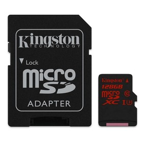 Карта памет Kingston microSDXC UHS-I Class 10 U3 - 128GB