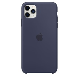 Калъф Apple iPhone 11 Pro Max Silicone Case MWYW2ZM/A Midnight Blue