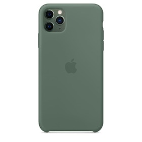 Калъф Apple iPhone 11 Pro Max Silicone Case MX012ZM/A Pine Green