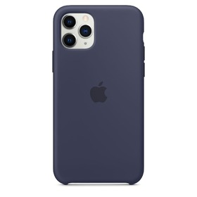 Калъф Apple iPhone 11 Pro Silicone Case MWYJ2ZM/A Midnight Blue