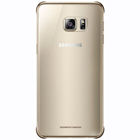 Калъф Samsung Galaxy S6 Edge+ Clear Cover QG928CF Gold