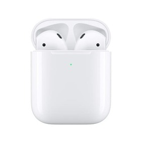Bluetooth слушалки Apple AirPods 2 MRXJ2ZM/A Wireless Charging Case