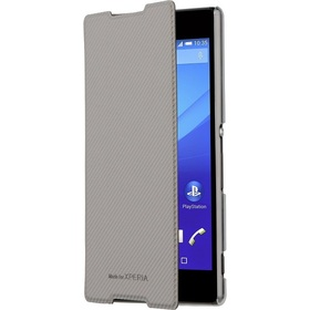 Калъф Roxfit Book Case Sony Z5 Silver
