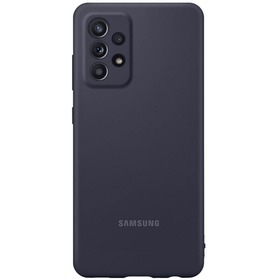 Калъф Samsung Galaxy A52|A52 5G Silicone Cover Black