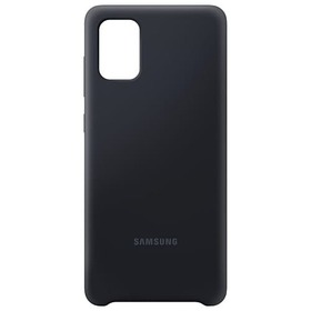 Калъф Samsung A71 Silicone Cover PA715TB Black