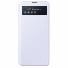 Калъф Samsung Note 10 Lite S View Wallet EN770PW White