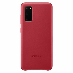 Калъф Samsung Galaxy S20 Leather Cover VG980LB Red