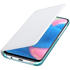 Калъф за Samsung Galaxy A30s Wallet Cover EF-WA307PW White