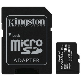 Карта памет Kingston Canvas Select+ Micro SD 16GB