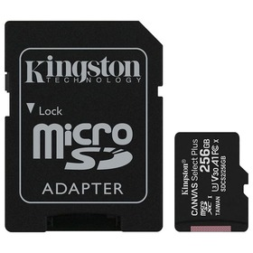 Карта памет Kingston Canvas Select+ Micro SD 256GB