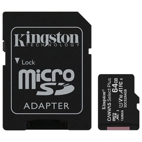 Карта памет Kingston Canvas Select+ Micro SD 64GB