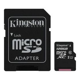 Карта памет Kingston micro SD 128GB Canvas Select UHS-I Class 10