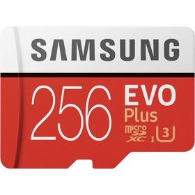 Карта памет Samsung EVO+ Micro SD 256GB MC256HA