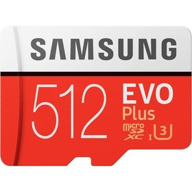 Карта памет Samsung EVO+ Micro SD 512GB MC512HA