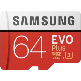Карта памет Samsung EVO+ Micro SD 64GB MC64HA