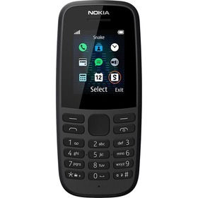 Nokia 105 2019 DS Black