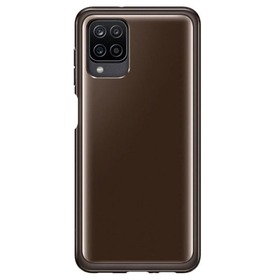Калъф Samsung Galaxy A12 Soft Clear Cover Black