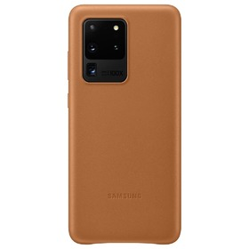 Калъф Samsung Galaxy S20 Ultra 5G Leather Cover VG988LA Brown