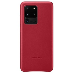 Калъф Samsung Galaxy S20 Ultra 5G Leather Cover VG988LR Red