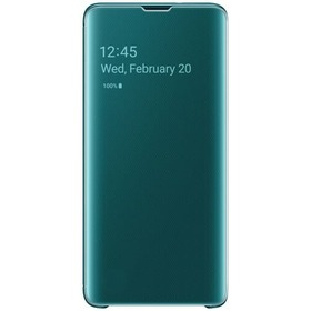 Калъф Samsung S10 Clear View Cover Green