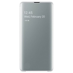 Калъф Samsung S10+ Clear View Cover White