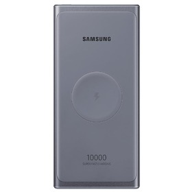 Външна батерия Samsung U3300XJ Wireless Power Bank 25W 10000 mAh Gray