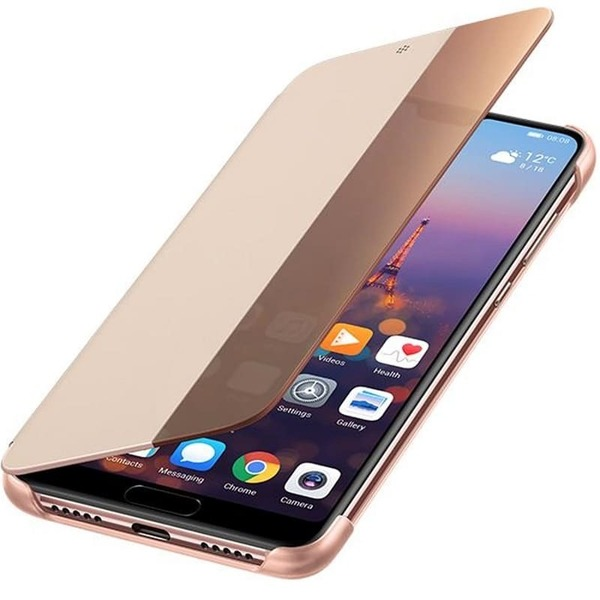 Калъф Huawei P20 Smart View Flip Cover Pink-1