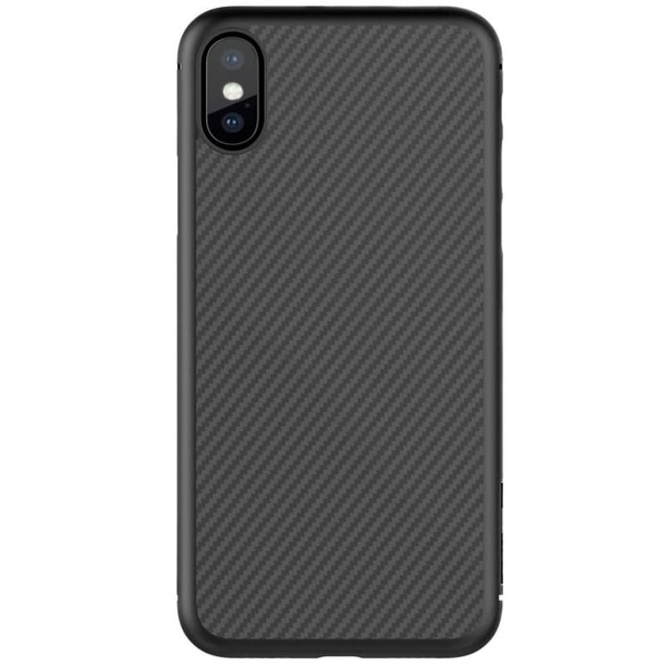 Калъф Nillkin Synthetic Fiber Case iPhone X Black