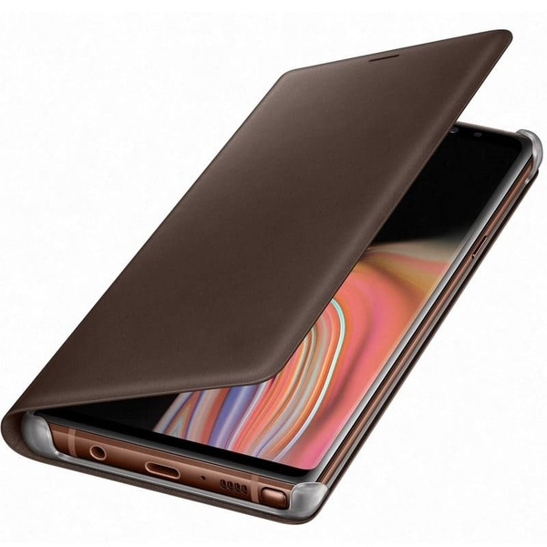 Калъф Samsung Galaxy Note 9 Leather View EF-WN960LA Brown-1