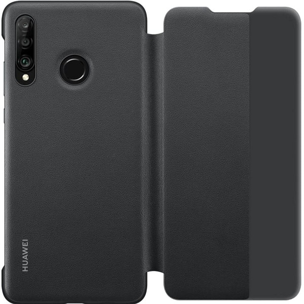 Калъф за Huawei P30 Lite Smart View Flip Cover Black-2
