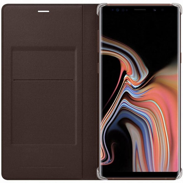 Калъф Samsung Galaxy Note 9 Leather View EF-WN960LA Brown-3
