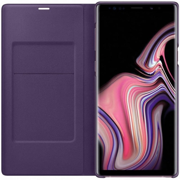 Калъф Samsung Galaxy Note 9 LED View Cover EF-NN960PV Lavender-3