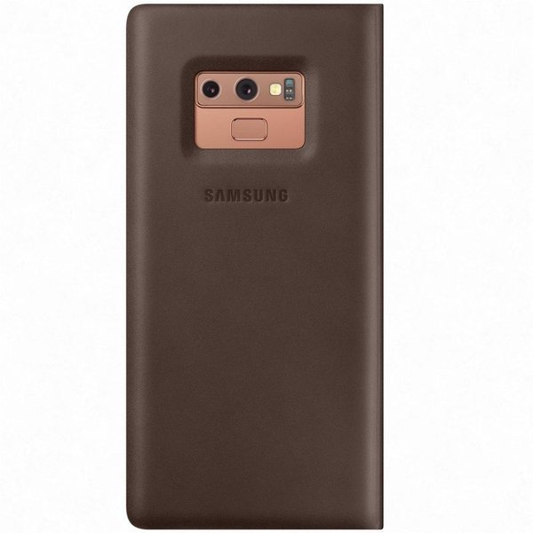 Калъф Samsung Galaxy Note 9 Leather View EF-WN960LA Brown-2
