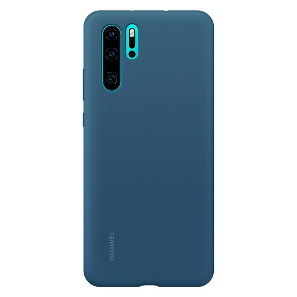 Калъф Huawei P30 Pro Silicone Case Blue
