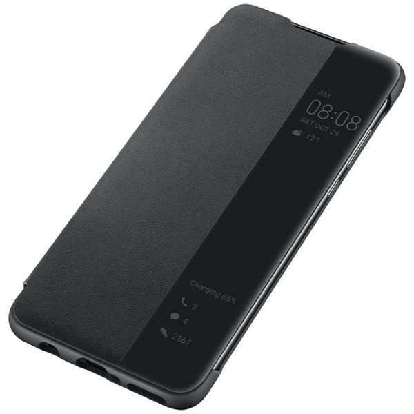 Калъф за Huawei P30 Lite Smart View Flip Cover Black-3