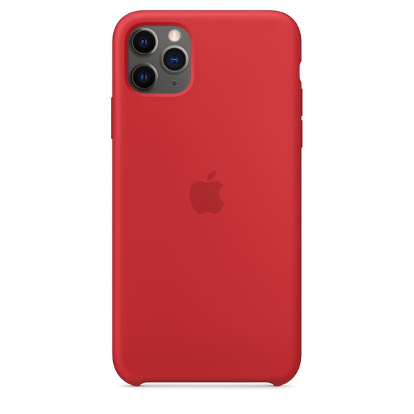 Калъф Apple iPhone 11 Pro Max Silicone Case MWYV2ZM/A Red