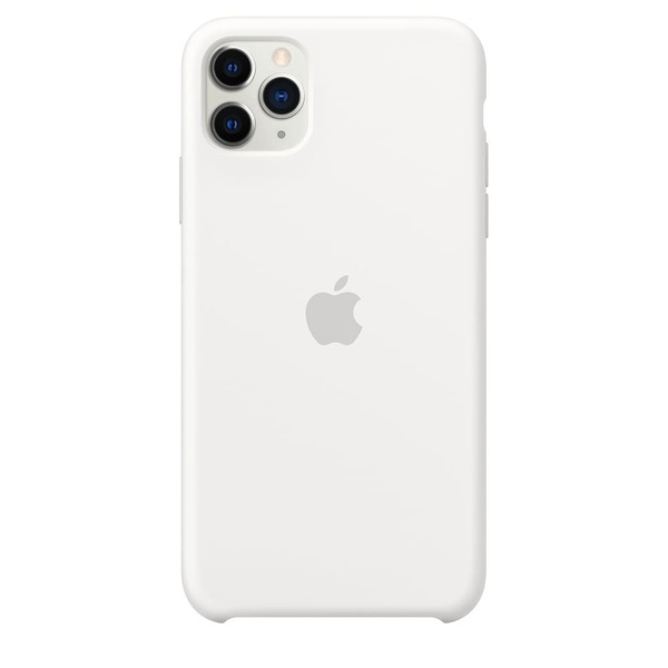 Калъф Apple iPhone 11 Pro Max Silicone Case MWYX2ZM/A White