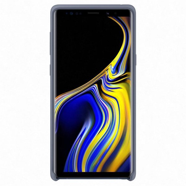 Калъф Samsung Galaxy Note 9 Silicone Cover EF-PN960TL Blue-2