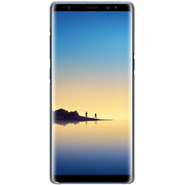 Калъф Samsung Galaxy Note 8 Clear Cover EF-QN950CN Deep Blue-3