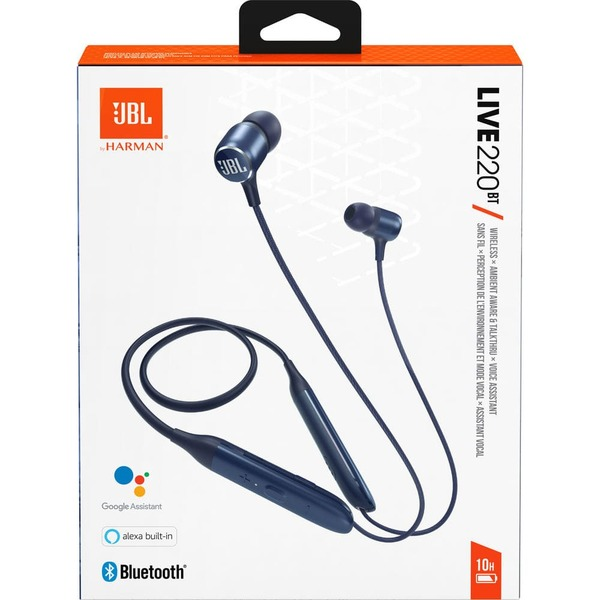 Безжични слушалки JBL LIVE 220BT Bluetooth In-Ear Blue-3