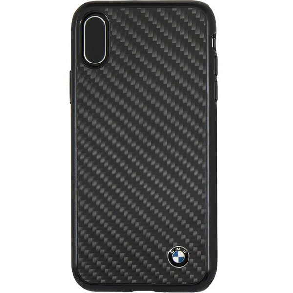 Калъф BMW Signature Carbon Fiber Case iPhone X Black