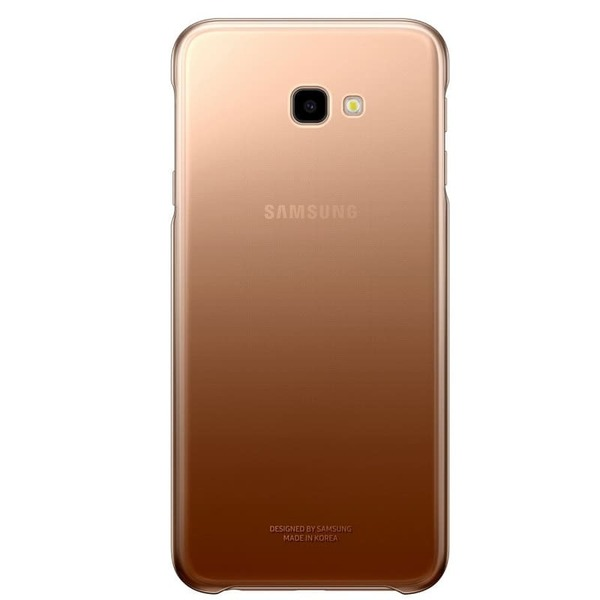 Калъф Samsung Galaxy J4 Plus Gradation Cover EF-AJ415CF Gold