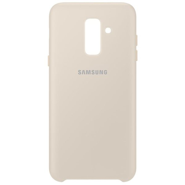 Калъф Samsung Galaxy A6 Plus Dual Layer Cover EF-PA605CF Gold
