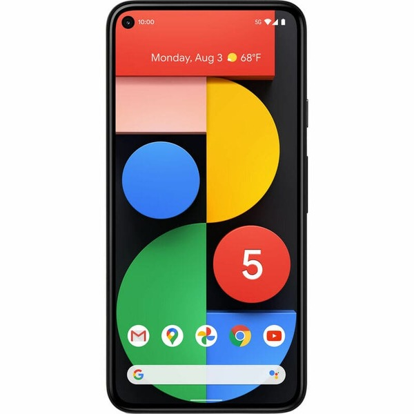 Google Pixel 5 128GB 8GB RAM Just Black