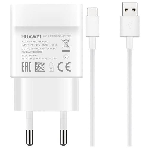 Зарядно за Huawei AP32 Quick Charger Type-C 2A 18W White