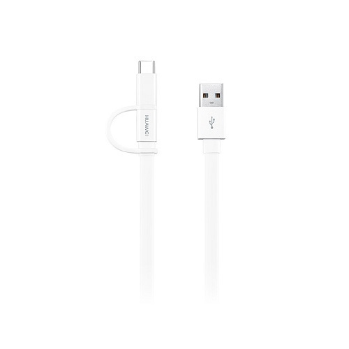 Кабел Huawei AP55S 2-in-1 Micro USB & Type-C 1.5m White-1