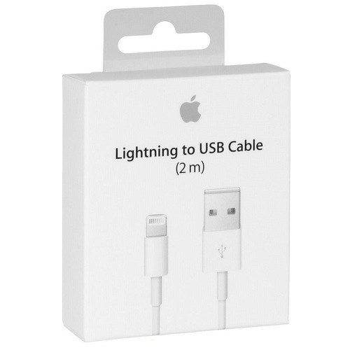 Кабел за iPhone Apple MD819ZM/A Lightning to USB 2m-3