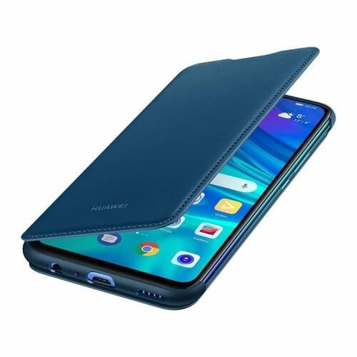 Калъф Huawei P Smart 2019 Wallet Cover Blue-1