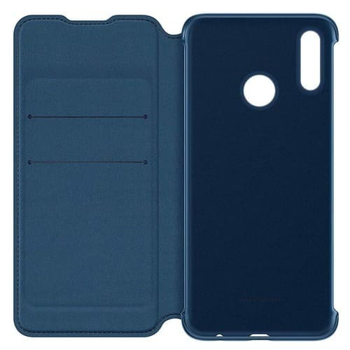 Калъф Huawei P Smart 2019 Wallet Cover Blue-2