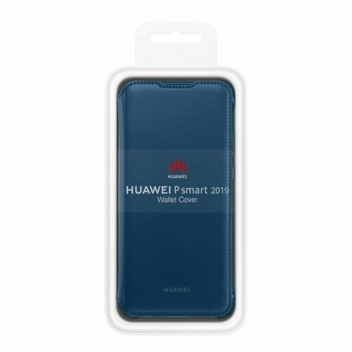 Калъф Huawei P Smart 2019 Wallet Cover Blue-3